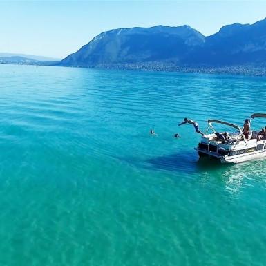 Baptême parapente vol apéro'Boat'