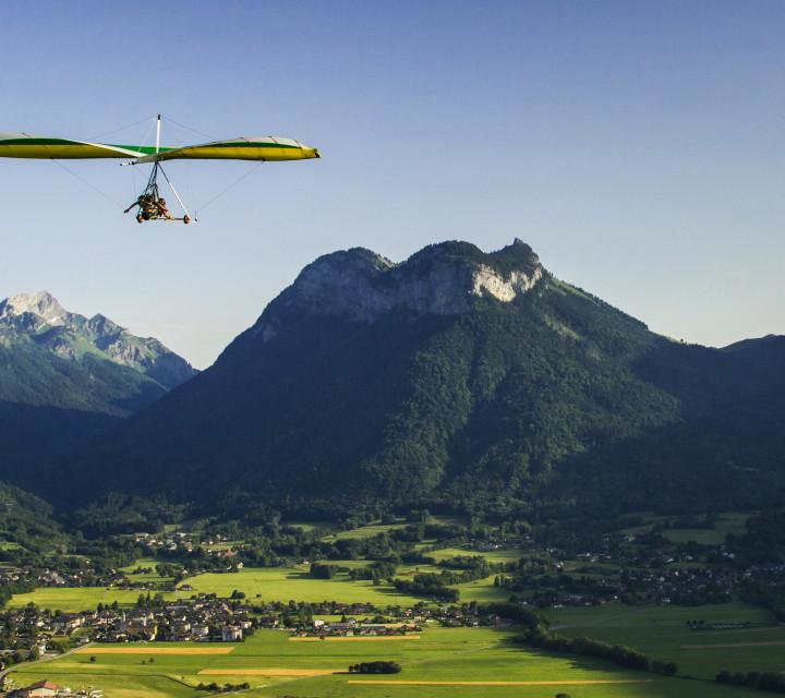 Découverte vol en deltaplane à Annecy