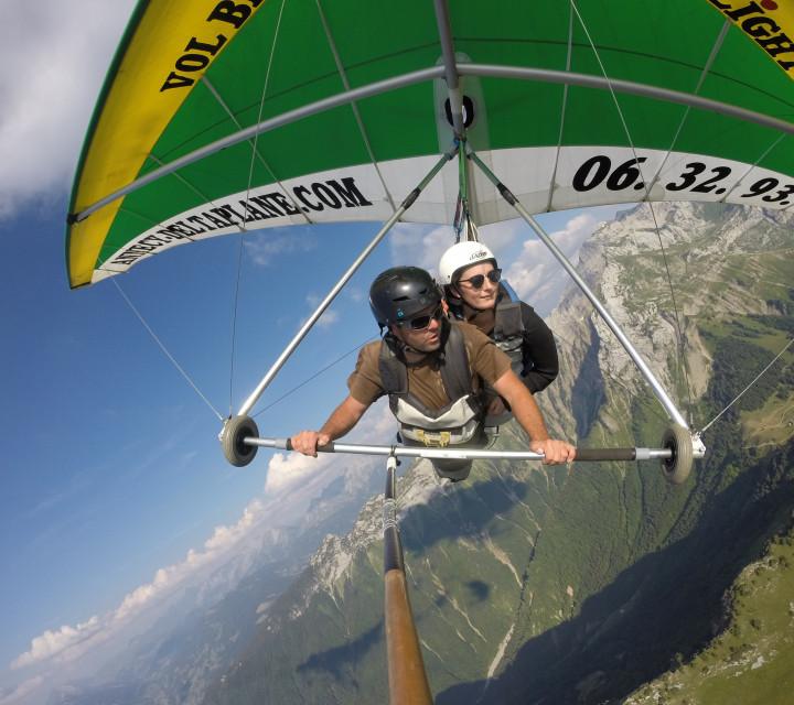 Vol Sensations en deltaplane à Annecy